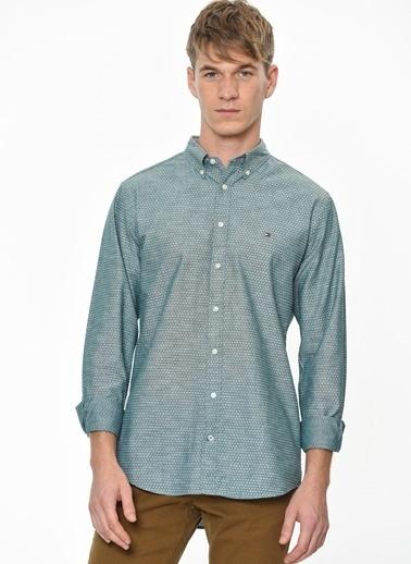 Tommy Hilfiger Gömlek Yeşil